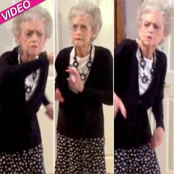 //whitney houston grandma dancing