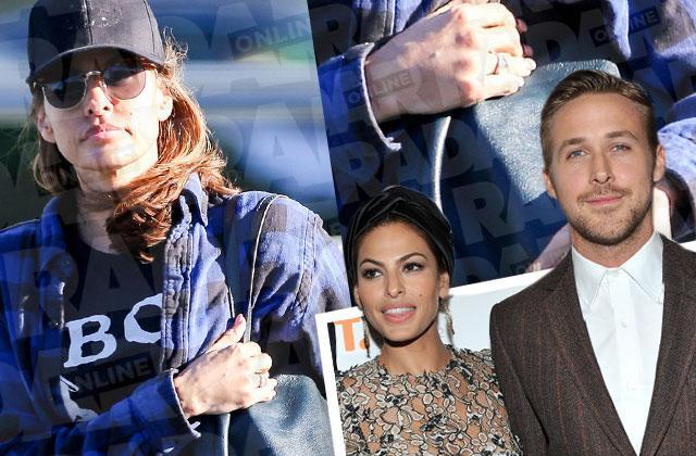 //ryan gosling eva mendes married rumors ring