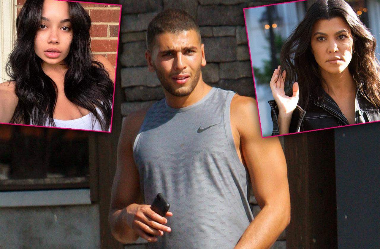 //kourtney kardashian boyfriend younes cheating scandal mistress jordan pp