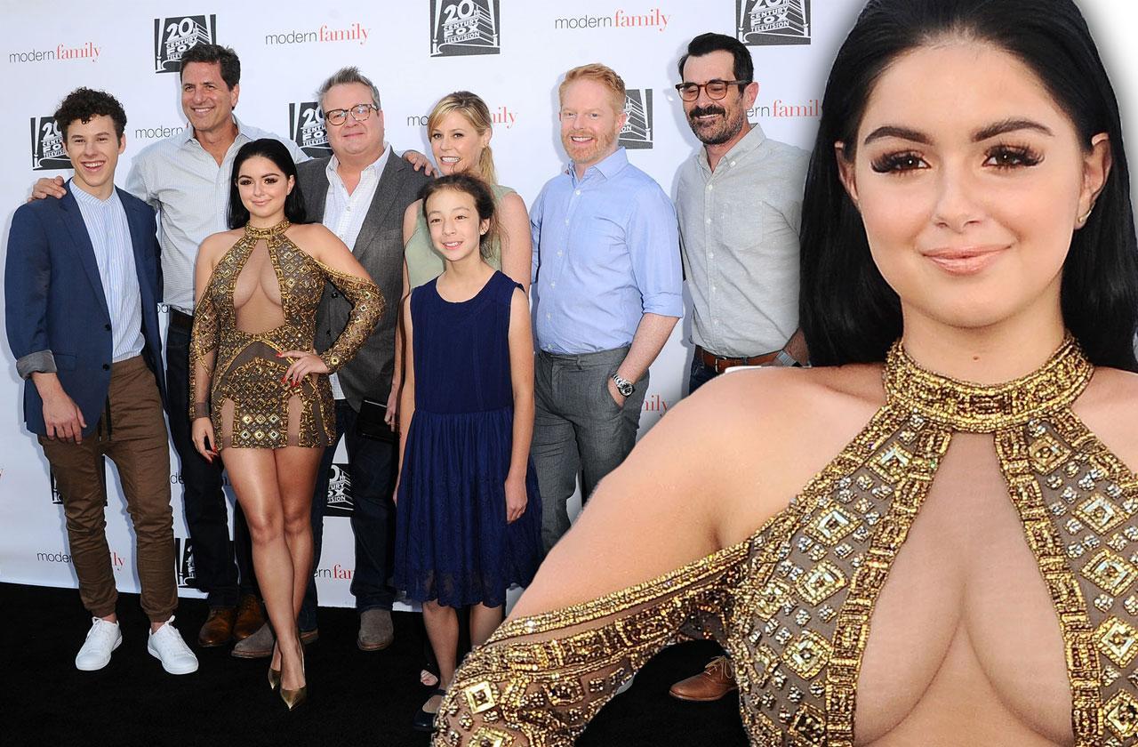 Ariel Winter Dress Boobs Modern Family Screening