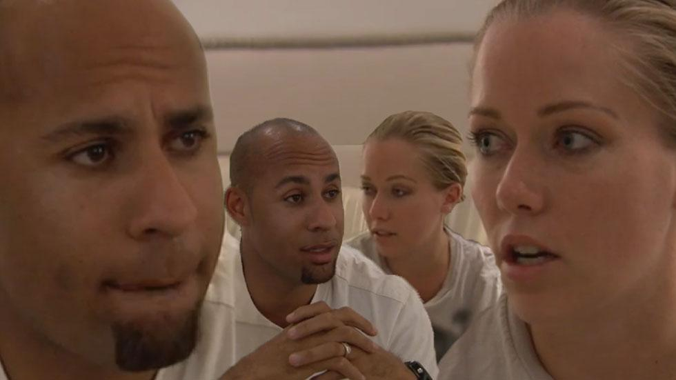 Kendra Wilkinson Hank Baskett Talk Divorce