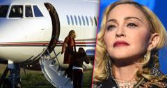 Madonna Private Jet