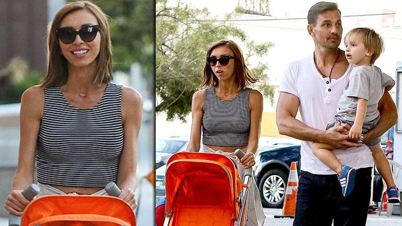 //giuliana rancic scary skinny family outing