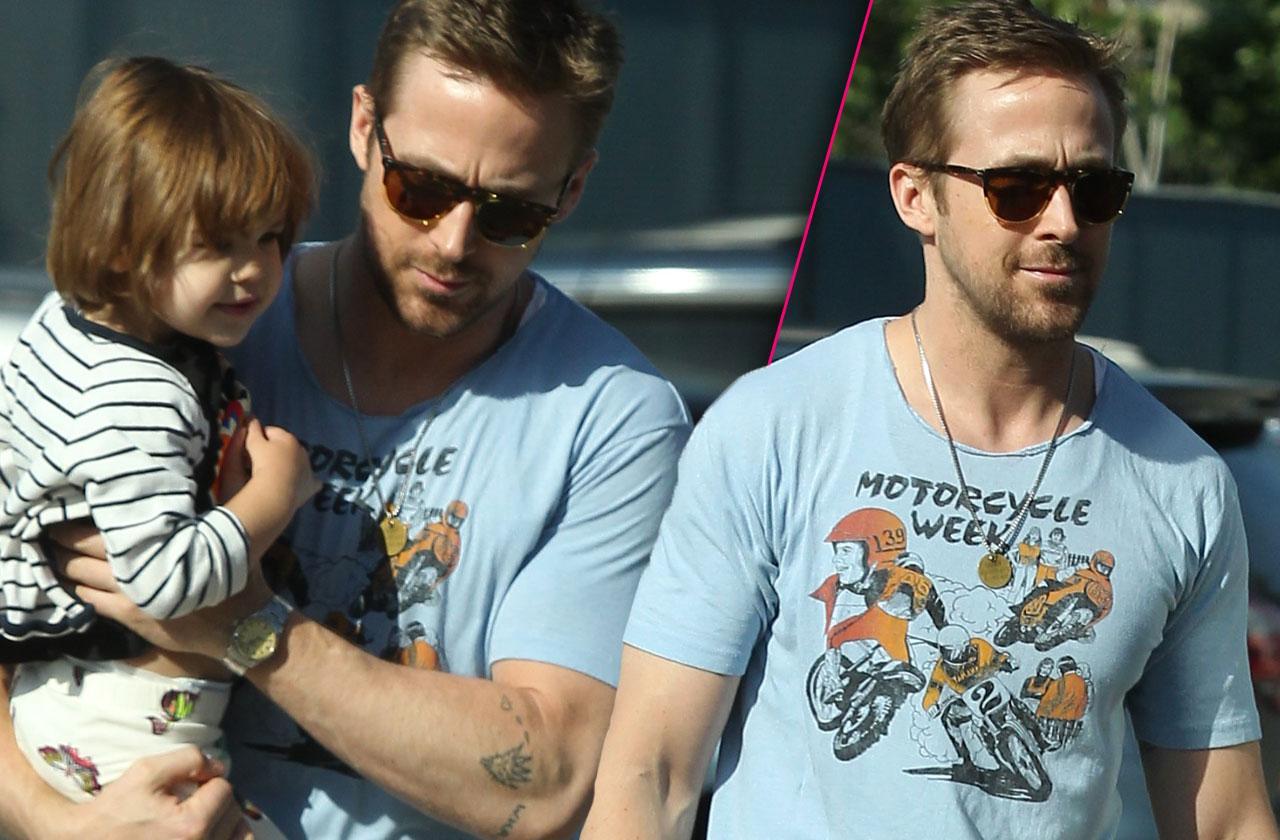 Ryan Gosling Daughter Esmeralda Errands
