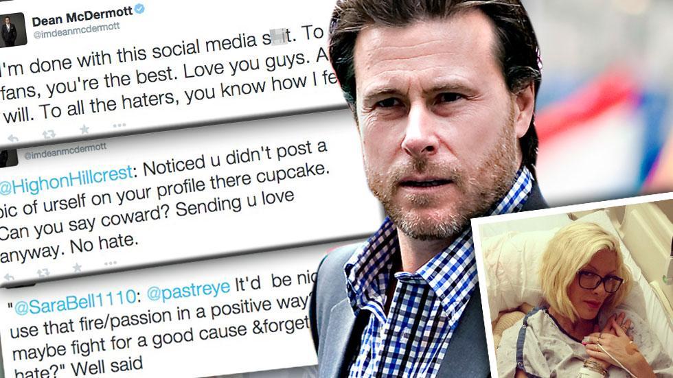 //dean mcdermott leaves twitter