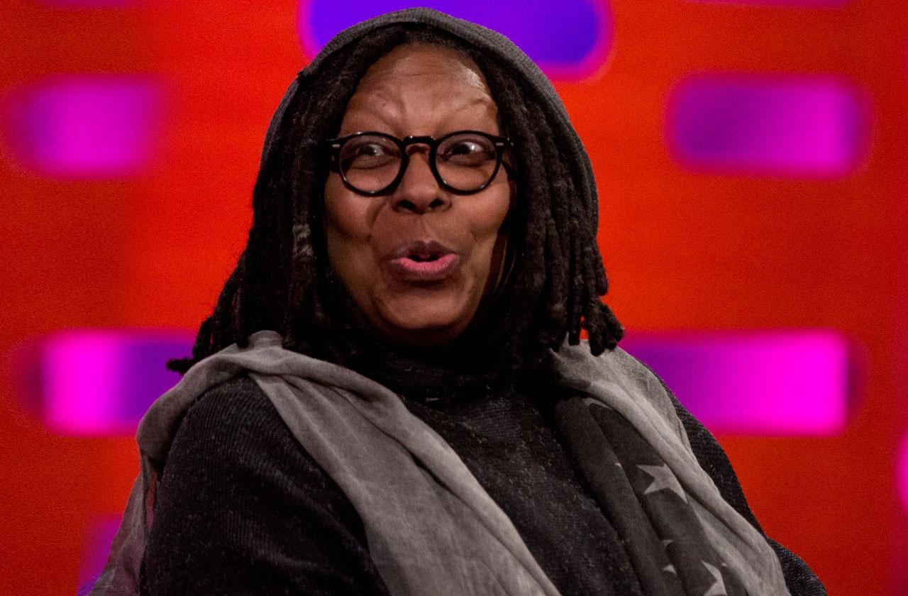 //whoopi golberg wanted to quit the view pp