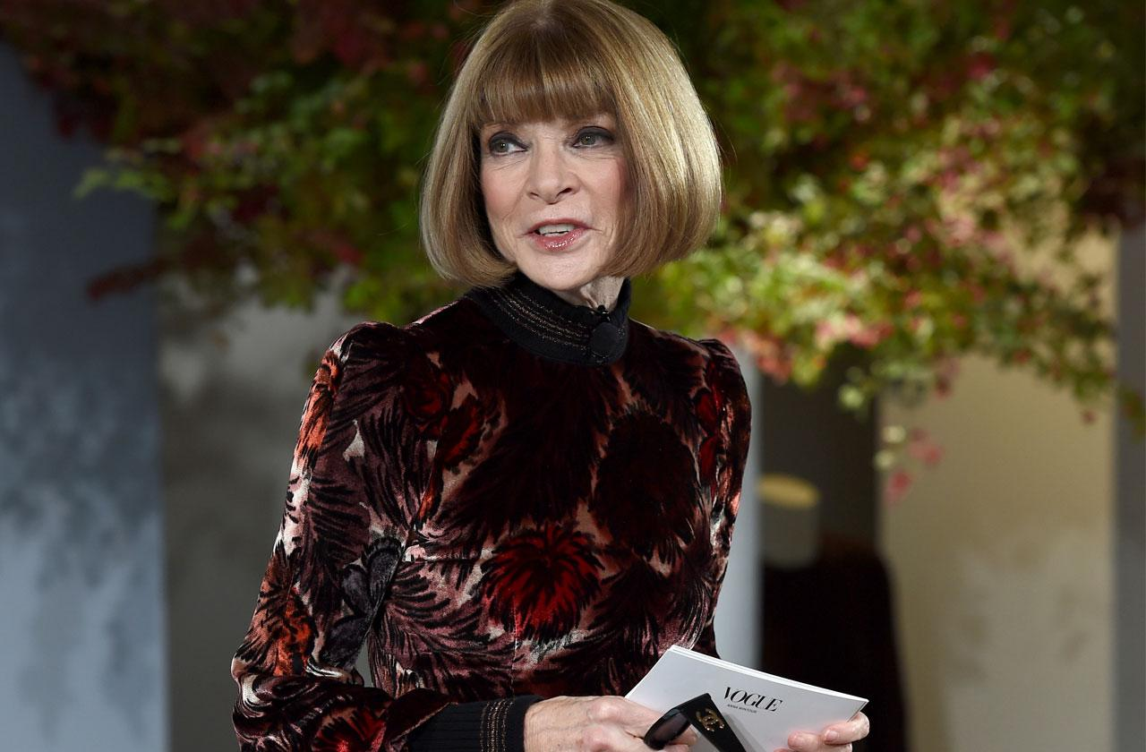 //Anna Wintour Met Gala Celebrity Black List pp