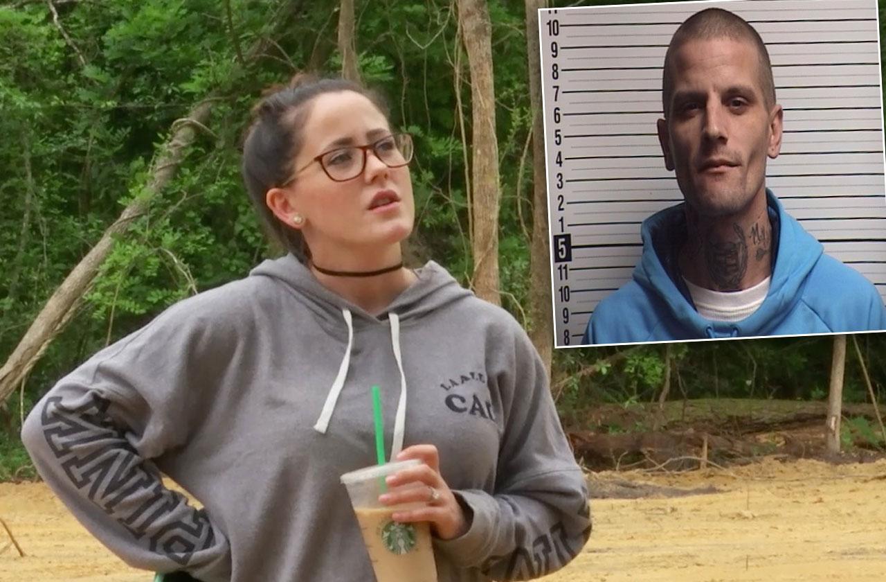 jenelle evans ex husband courtland rogers arrested teen mom 2