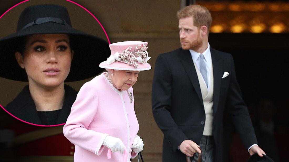 Meghan Markle Skips Royal Meeting With Queen Elizabeth