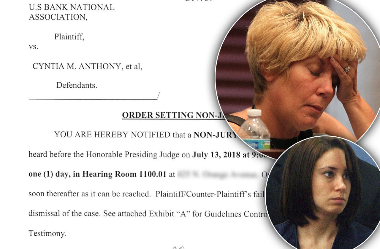 Casey Anthony Mom Cindy Anthony Mortgage Case