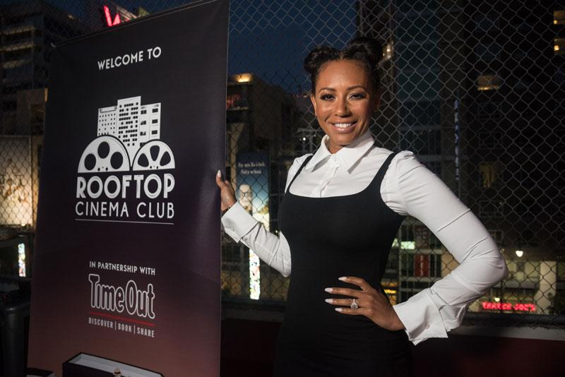 //Mel B Surprises Guests at Spice World Screening