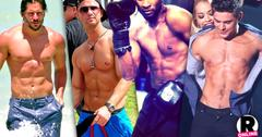 //celebrity six packs male best abs pp sl
