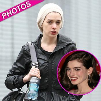//anne hathaway no makeup glamourous splash inf