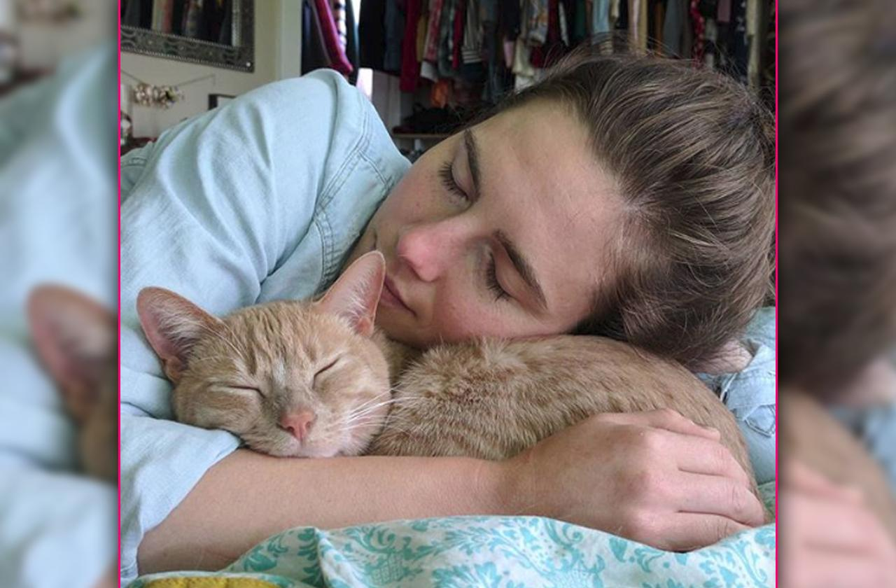 Amanda Knox Suffers Horrific Christmas Cat Death Tragedy