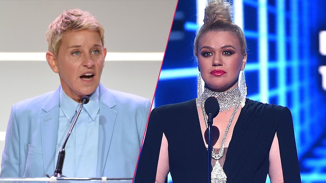 Talk Show Showdown! Ellen DeGeneres & Kelly Clarkson Fighting Over Guests