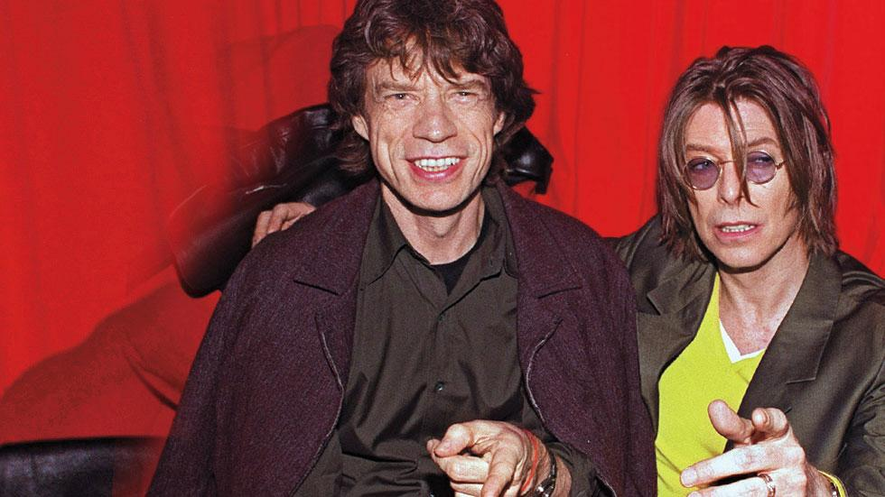 //david bowie and mick jagger ne