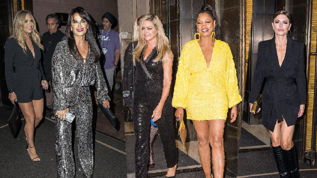 Garcelle Beauvais Joins RHOBH Co Stars In New York