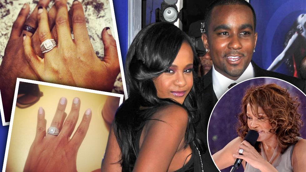 Bobbi Kristina Brown Whitney Houston Diamond Ring Missing