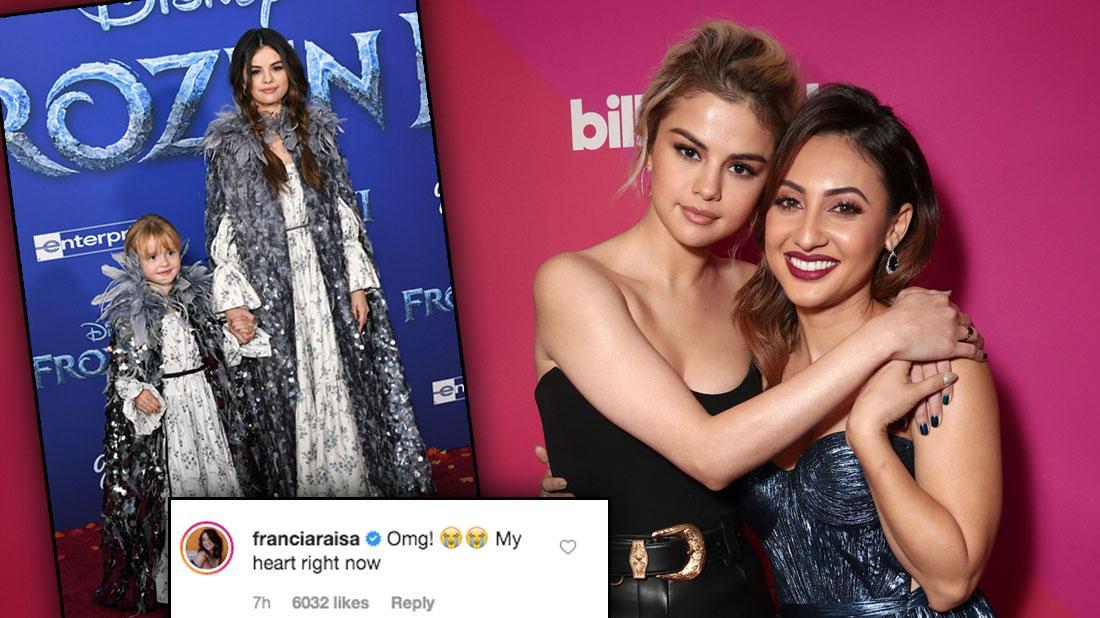 Selena Gomez & Francia Raisa Friends Again After Months-Long Feud
