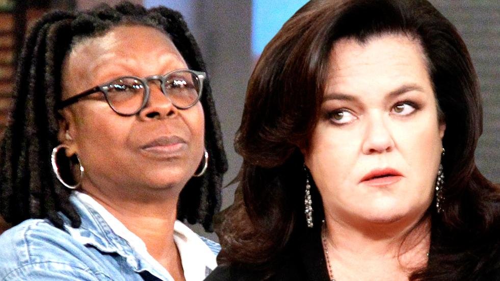 //whoopi goldberg rosie odonnell the view cant agree fight pp