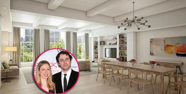 Chelsea Clinton's Apartment