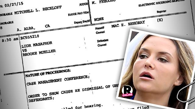 Brooke Mueller Drug Mule Lawsuit