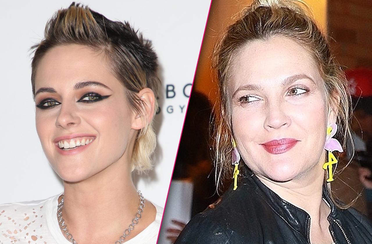 Drew Barrymore And Kristen Stewart Enjoy 'Flirty' Friendship