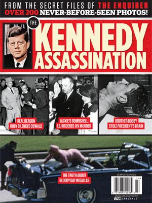 //the kennedy assassination magazine
