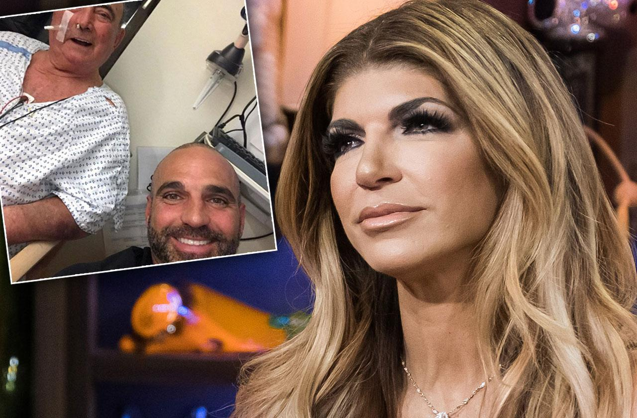 Teresa giudice father hospitalized pneumonia rhonj update