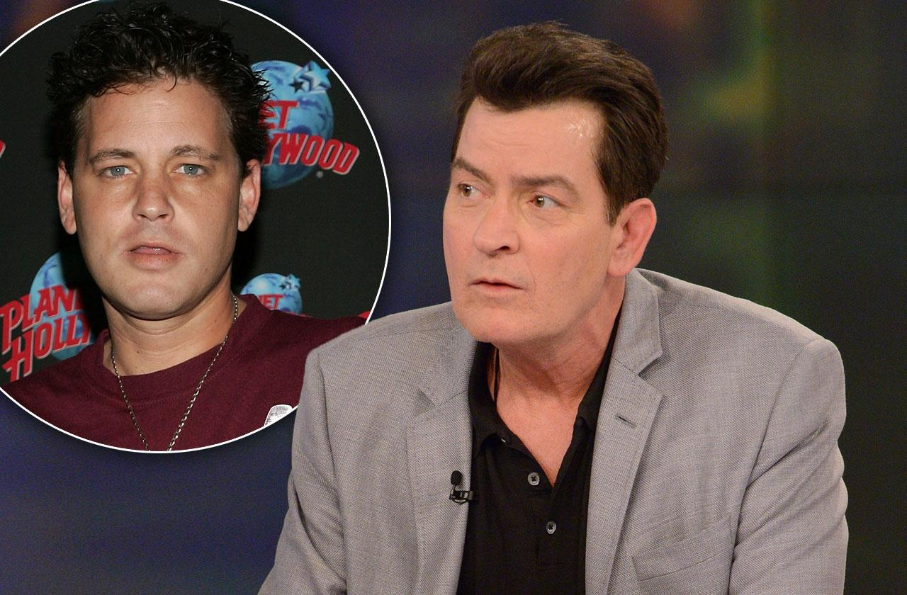 //Charlie sheen sexually abused corey haim pp