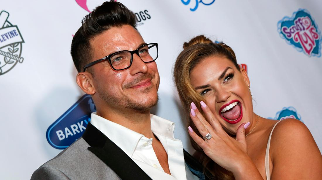 Jax Taylor and Brittany Cartwright arrive at the 3rd Annual Vanderpump Dog Foundation Gala