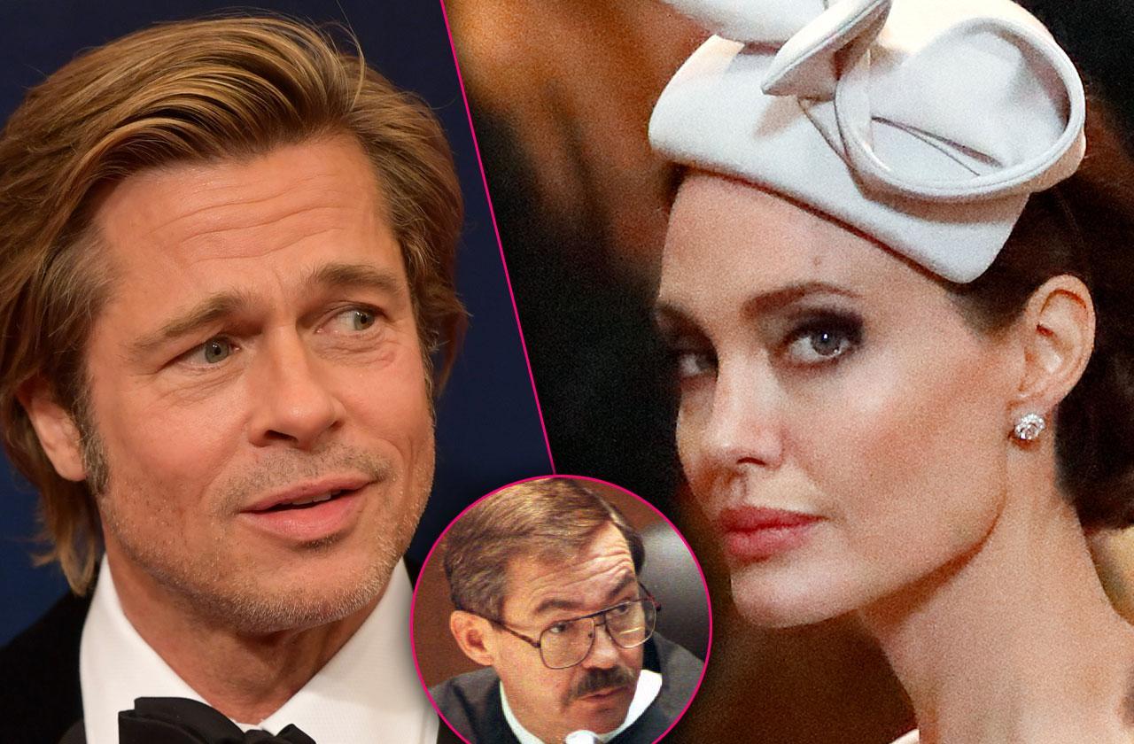 Brad Pitt Angelina Jolie Custody Judge Officiated Wedding
