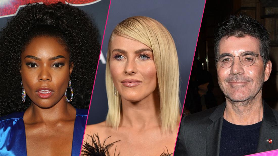 Julianne Hough And Gabrielle Union Eliminated From AGT