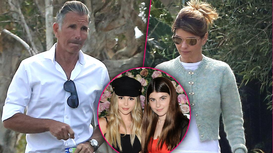 Lori Loughlin Mossimo Giannulli Spotted College Scandal