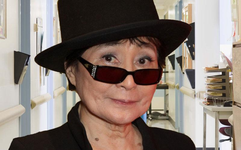 Yoko Ono Rushed To Hospital