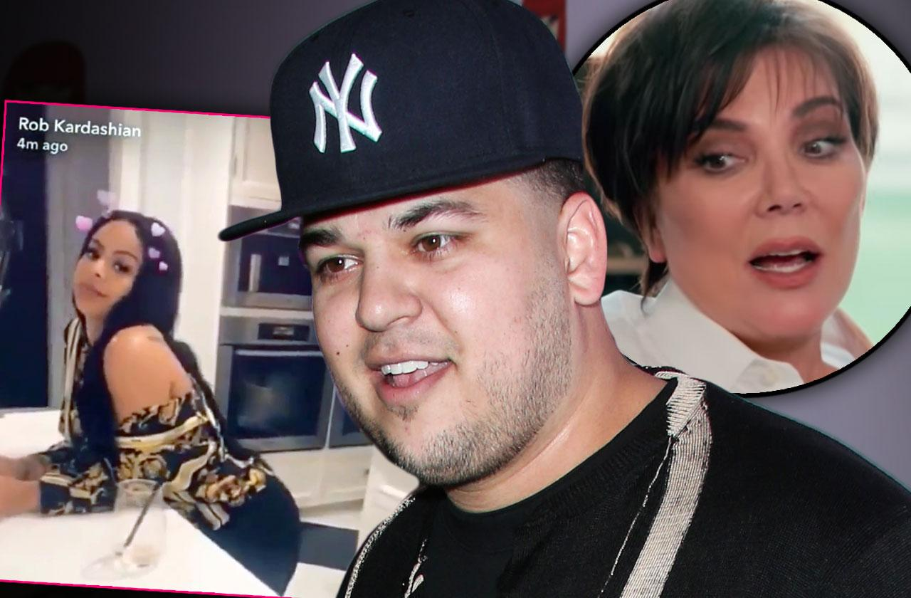 //kris jenner rob kardashian spending major cash new girlfriend pp
