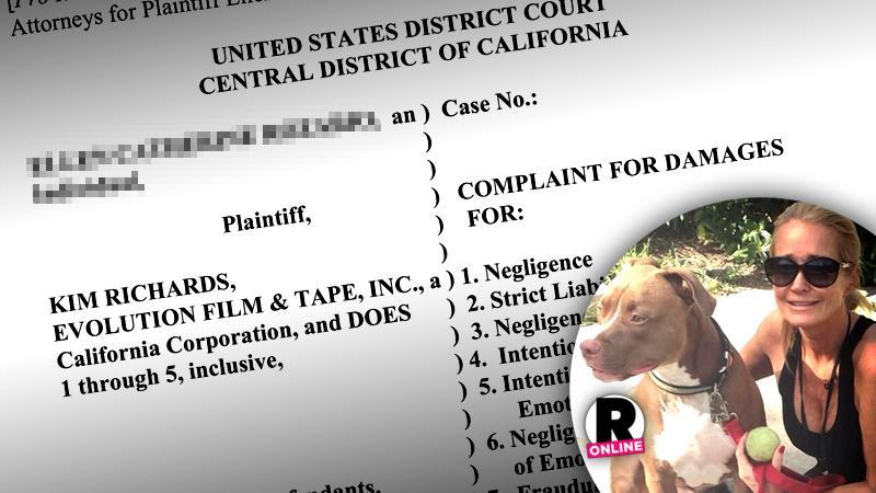 //kim richards dog attack bravo rhobh lawsuit PP