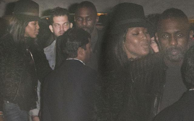 Naomi Campbell Dating Idris Elba? Photos Of Pair Leaving 1Oak Nightclub