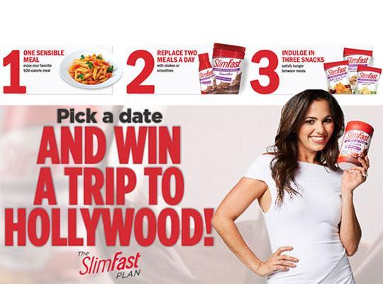 //radar Sweeps Promotion Slimfast