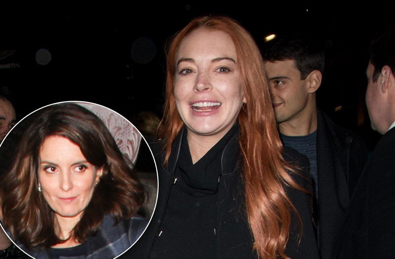 //Lindsay Lohan Attending Mean Girls Broadway Premiere pp
