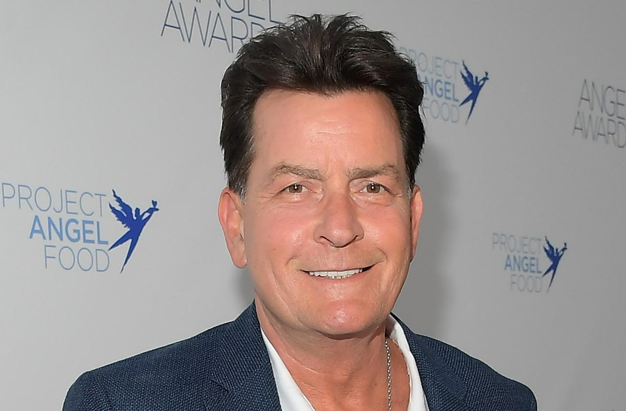 Charlie Sheen Celebrates One Year Of Sobriety With Special Coin