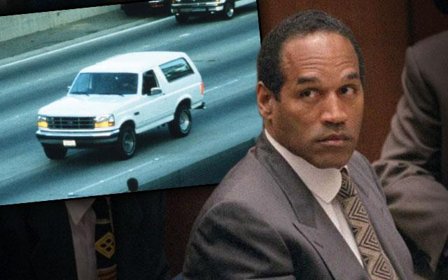 OJ Simpson New Lawyers Ford Bronco Chase