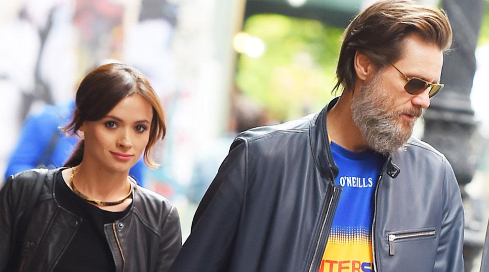 Jim Carrey Cathriona White Married