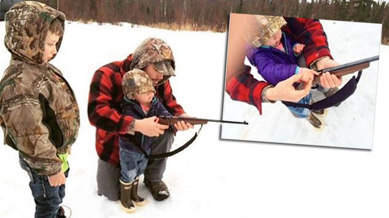 //palin johnston photos children guns