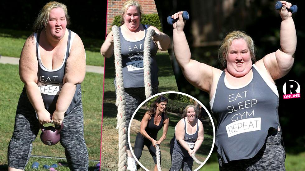 mama june work out
