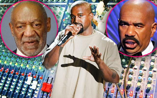 Kanye West's New Song 'Facts' Disses Bill Cosby, Steve Harvey