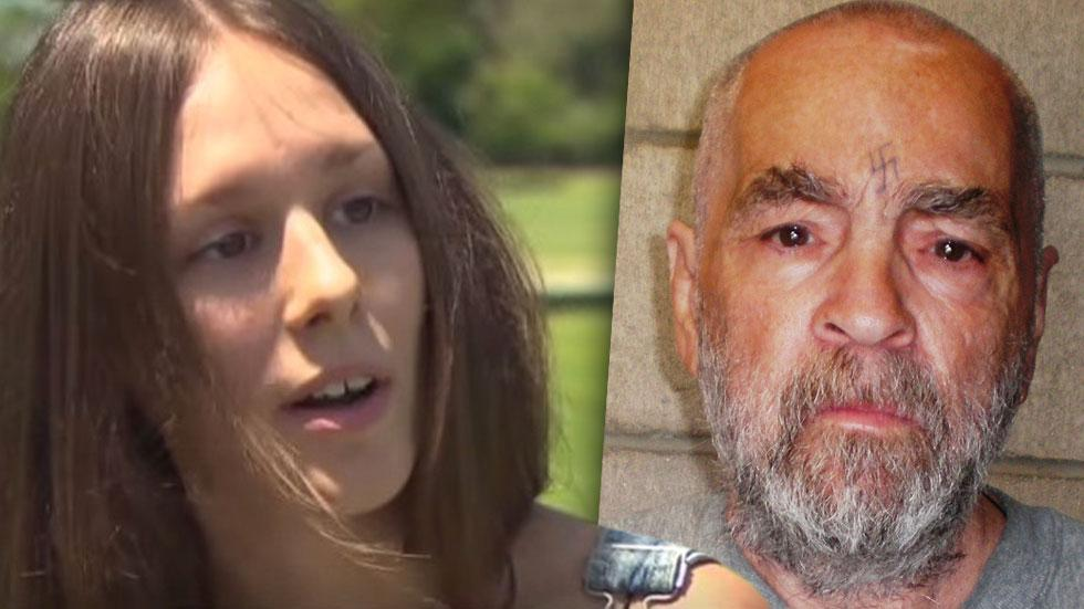 //charles manson and star