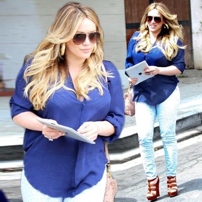 //hilary duff postbaby inf post