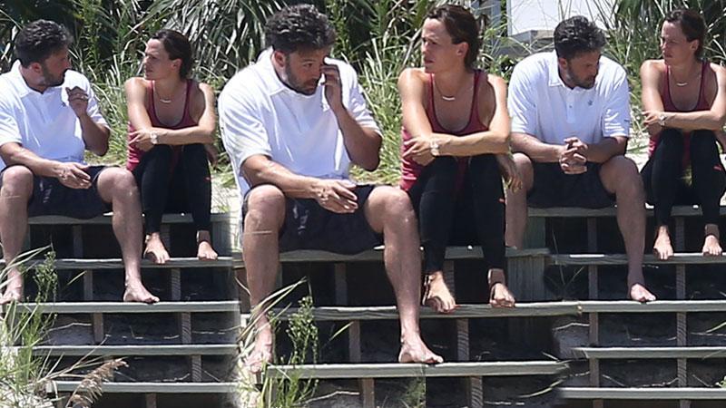 Ben Affleck Post-Divorce Announcement Vacation Photos With Jennifer Garner In Bahamas