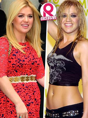 //kelly clarkson lose weight post baby body excited motherhood tall